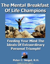sports hypnosis program mental breakfast of  life champions cover