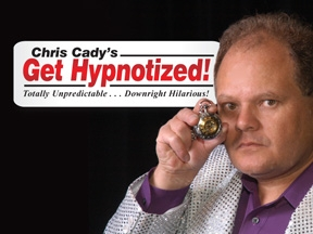 hypnotist Chris Cady Hypnosis with watch  Chris Cadys get hypnotized iComedy hypnosis show www.chriscady.com