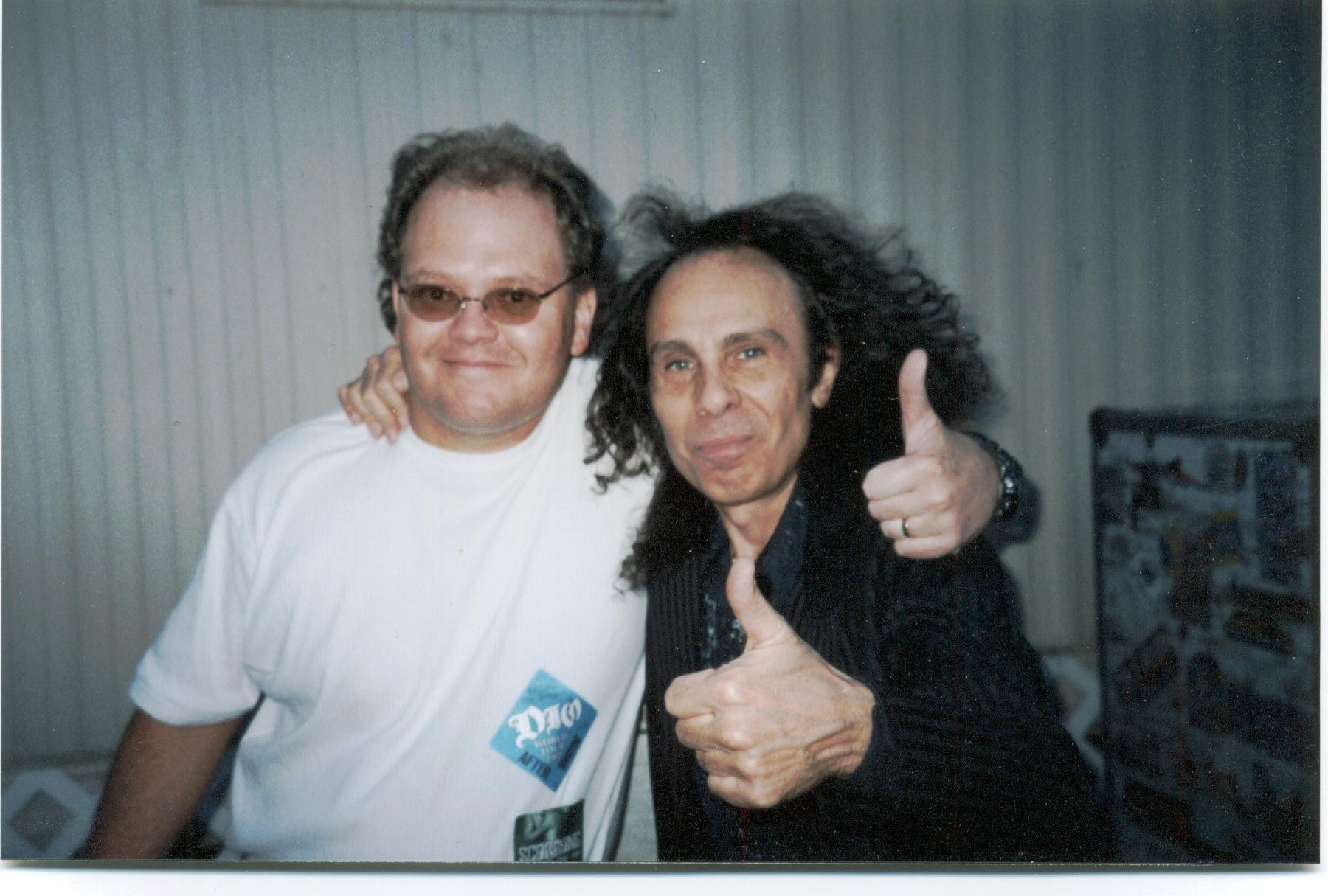 stop smoking ronnie james dio  with hypnotist chris cady in reno