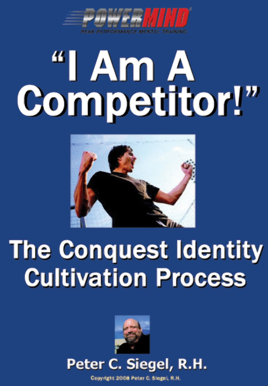 sports hypnotherapy motivation I am a competitor book cover